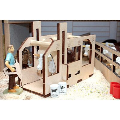 Brushwood Bt2071 Cattle Crush - 1:32 Farm Toys
