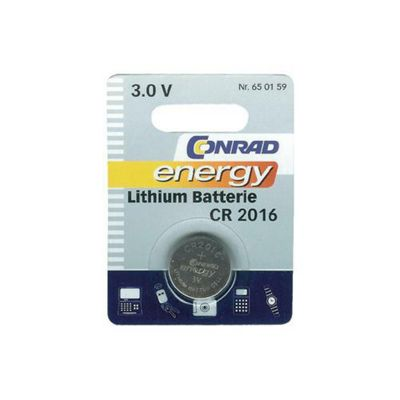 Conrad Lithium Button Cell Battery
