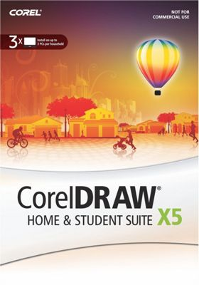 Corel CorelDraw X5 Home and Student Suite