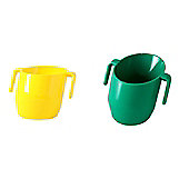 Doidy Cup Bundle - Green And Yellow - 2 Items