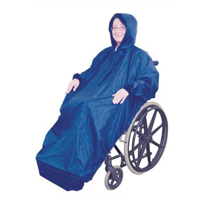 Wheelchair Mac with Sleeves in Blue