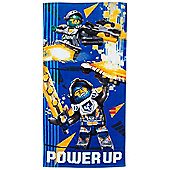 Lego Nexo Knights Power Cotton Beach Towel