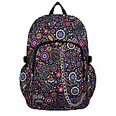 Chok Multi Skull Day Of The Dead Black Backpack