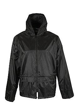 Hatherall Men's Water-Resistant Jacket - Black