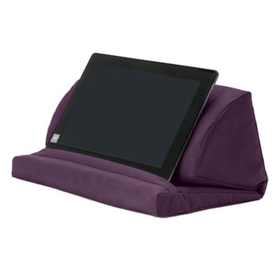 Purple Water Resistant Pull Out Foam Laptop Tablet Stand