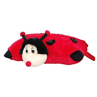 Cozy Time Pillow Pocket Pal Ladybird