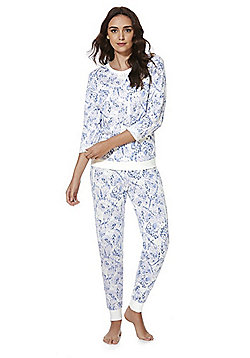 F&F Butterfly Wing Twosie Pyjamas - Purple multi
