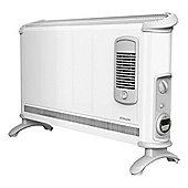 Dimplex 403TSFTIE 3KW Convector Heater with Turbo Boost and Timer in White