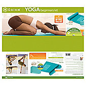 Gaiam Yoga Beginners Kit