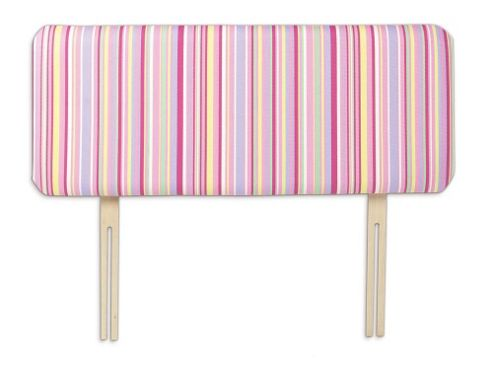 Just 4 Kidz Kids 98cm Funky Headboard - Candy Stripe