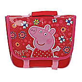Peppa Pig 'Tropical Paradise' PVC Flap School Bag Backpack