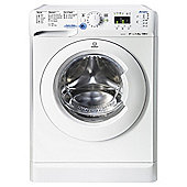 Indesit Innex Washing Machine, XWA 81252X W UK, 8KG load, with 1200 rpm - White