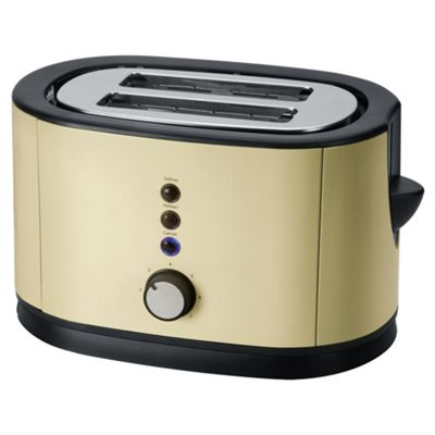 Tesco 2TSS12C 2 Slice Toaster - Cream