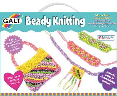 Galt Beady Knitting Set