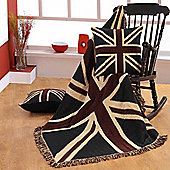 Homescapes Cotton Union Jack Flag Throw