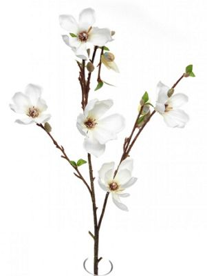 Artificial - Magnolia Branch - Cream