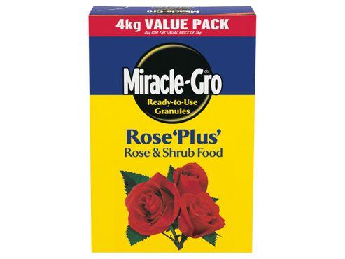Miracle Miracle-gro Rose Plus +33% 4Kg