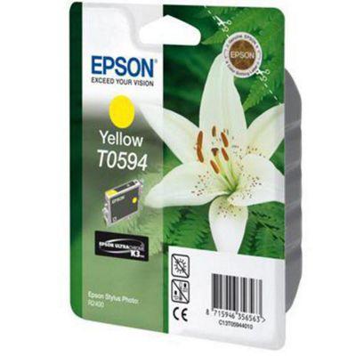 Epson T0594 Singlepack Ultra Chrome K3 Yellow