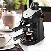 Premium Steam 3.5 Bar 800W Espresso Cappuccino Latte Coffee Machine Maker Black