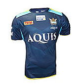 BLK Sport Gold Coast Titans Training Tee 2017 - Navy - Navy