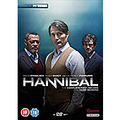Hannibal Seasons 1-3 DVD