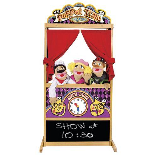 Melissa & Doug Deluxe Wooden Puppet Theatre