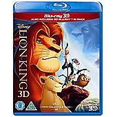 The Lion King 3D BD Retail Blu-ray