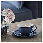 Fox & Ivy Jasmine Tea Luxury Scented Filled Teacup Candle