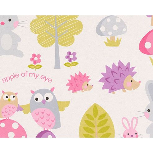 Woodland Creatures Wallpaper 10m
