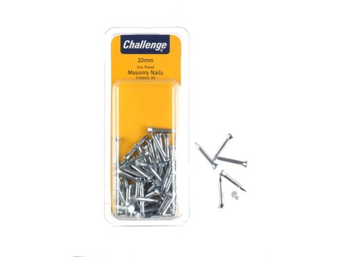 Shaw Challenge Masonry Nails 25Mm Clam