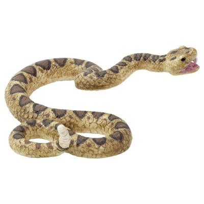 Realistic Rattlesnake Figurine Toy by Animal Planet