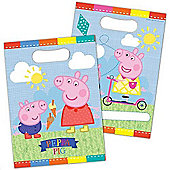 Peppa Pig Summer Time Party Bag - Pack Of 8