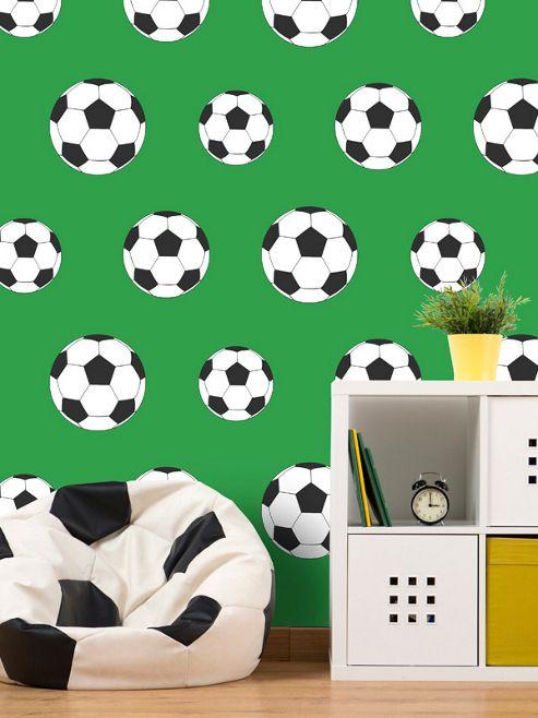 Goal Football Wallpaper - Green 9723