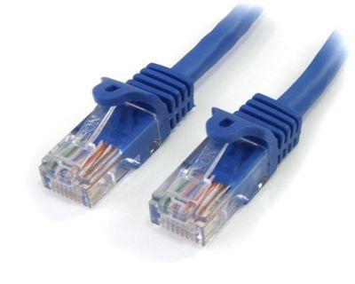 StarTech Cat 5e Cables RJ-45 - Cat5e UTP 350 MHz PVC 1 m Blue