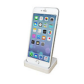 White Docking Stand for iPhone 5, 5S, 5C & 6