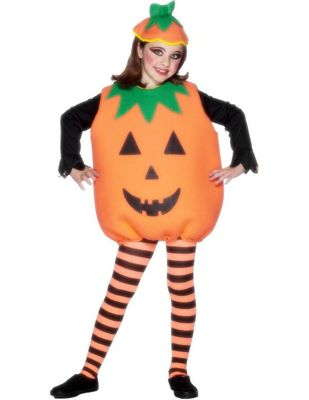 Child Pumpkin Halloween Costume