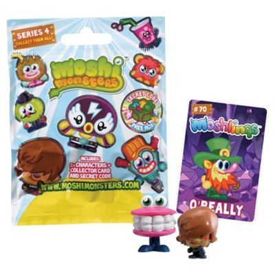 Moshi Monsters Blind Bags Series 4- Assortment – Colours & Styles May Vary