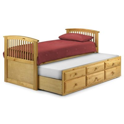 Premier Pine Cabin Bed Single High Foot End - 3ft (90cm)