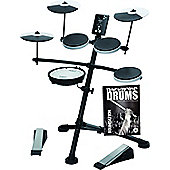 Roland TD-1KV V-Drums Electronic Drum Kit With FREE Backbone Drums Tutorial Book And Play Along C.D Worth £15.99