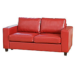 Sofa Collection Lucena Sofa - 3 Seat Sofabed - Red