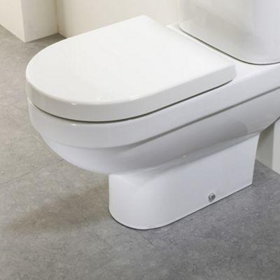 Tavistock Venus Soft Close Toilet Seat in White