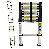 CHARLES BENTLEY DIY 3.8M TELESCOPIC EXTENDABLE EXTENSION LADDER