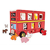 Bigjigs Toys Red Bus Sorter
