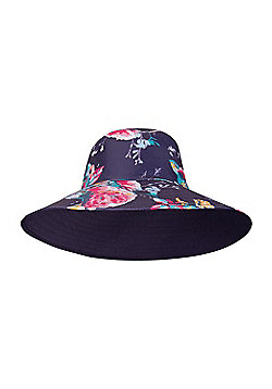 Mountain Warehouse REVERSIBLE PRINTED WOMENS BRIM HAT - Blue