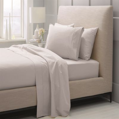 Sheridan 1000 Thread Count Cotton Sateen Dove Fitted Sheet - Super King