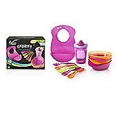 Tommee Tippee Explora Feeding Kit Pink