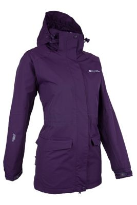 Glacier Womens Extreme Long Waterproof Jacket ( Size: 14 )