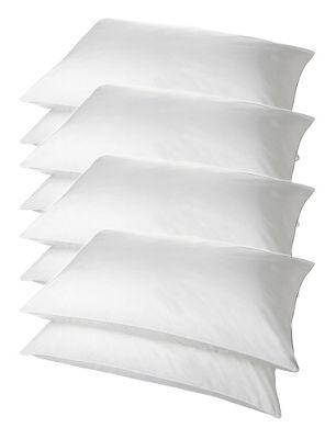 Superbounce Hollowfibre 8 Pack Pillow Polycotton Cover