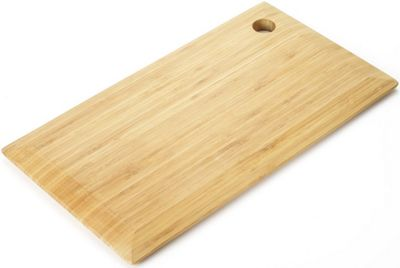 Bamboo Chopping and Cutting Board with Large Bevelled Edge by Occasion
