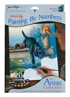 Reeves Artists Collection Medium Paint by Numbers Ripples - Art Store
